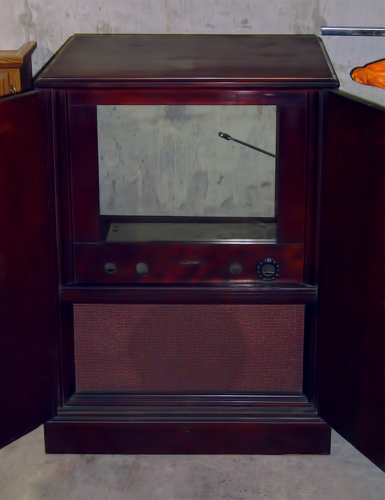 Cleaned Cabinet Front
