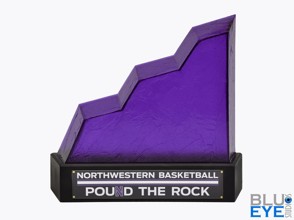 Finished Northwestern Pound the Rock Award